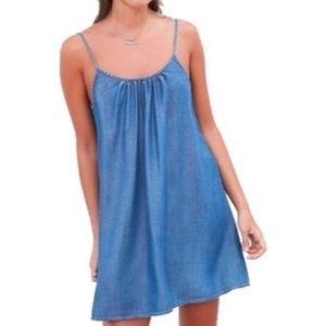 Urban Outfitters BDG Chambray Mini Swing Dress XS